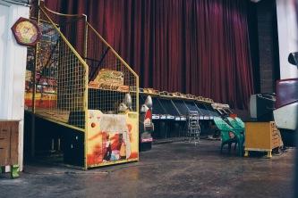 The game arcade.