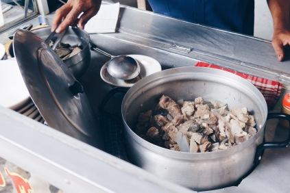 Labi-labi meat and cartillage.